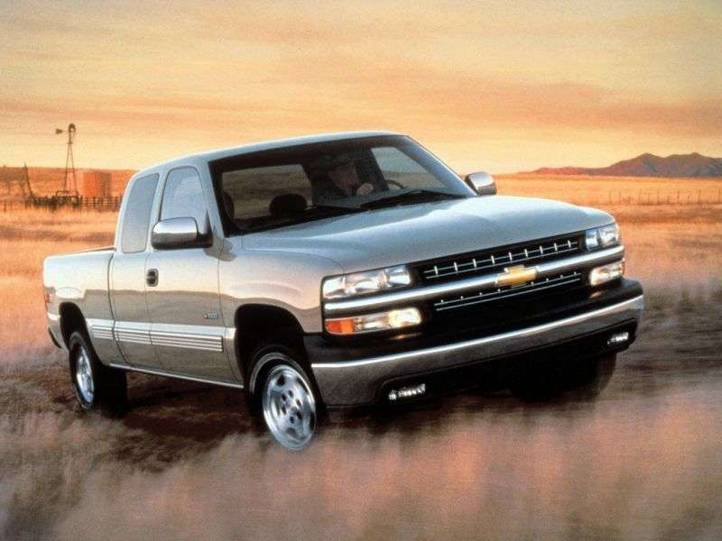 Chevrolet Silverado GMT800Extended Cab pick up 4 bit. 4.8 5MT 4WD 1500 Sportside (1999–2001)