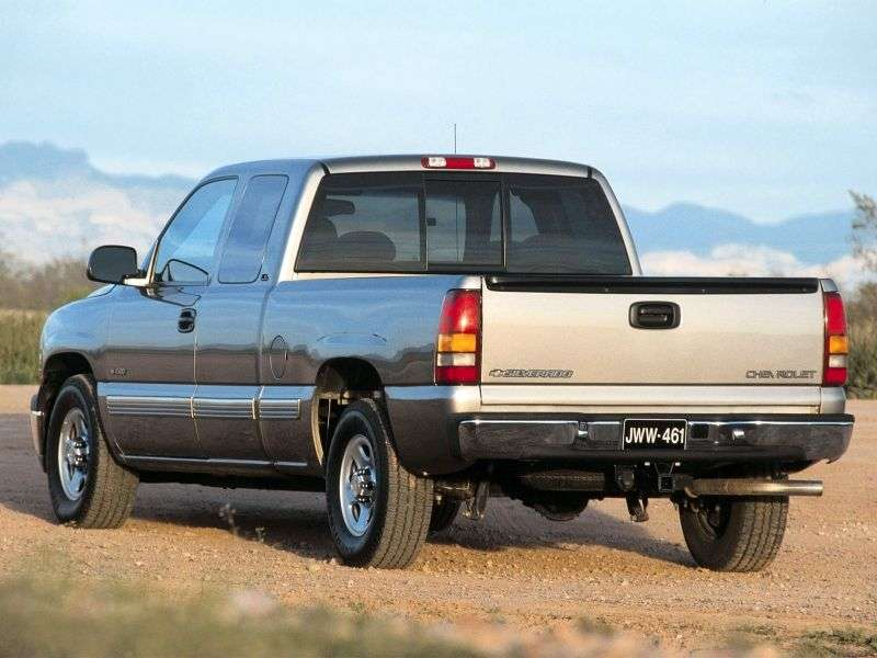Chevrolet Silverado GMT800Extended Cab pick up 4 bit. 6.6 TD 6MT LWB 3500HD (1999–2002)