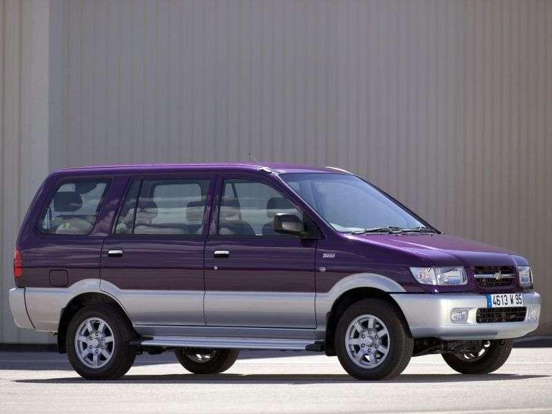 Chevrolet Tavera 1st generation minivan 2.5 TD MT (2004–2012)