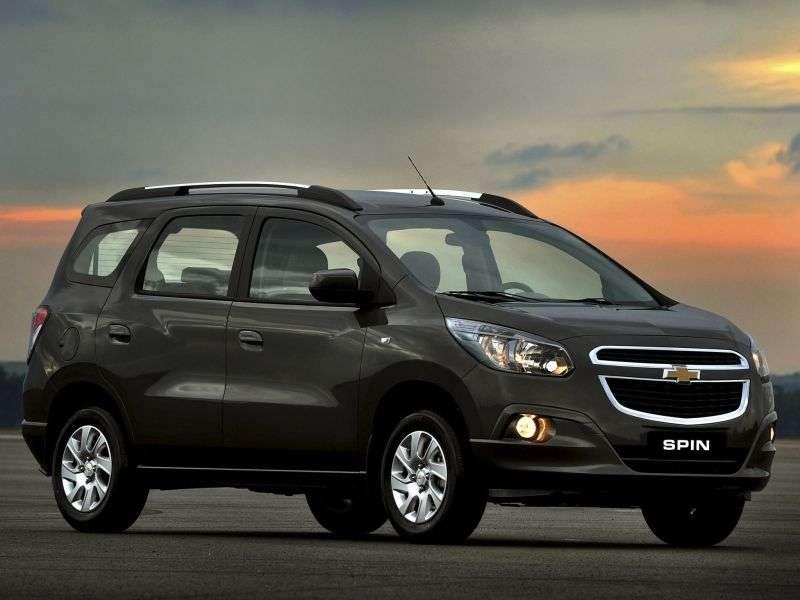 Chevrolet Spin 1st Generation Minivan 18 Flexfuel Mt 2012 N