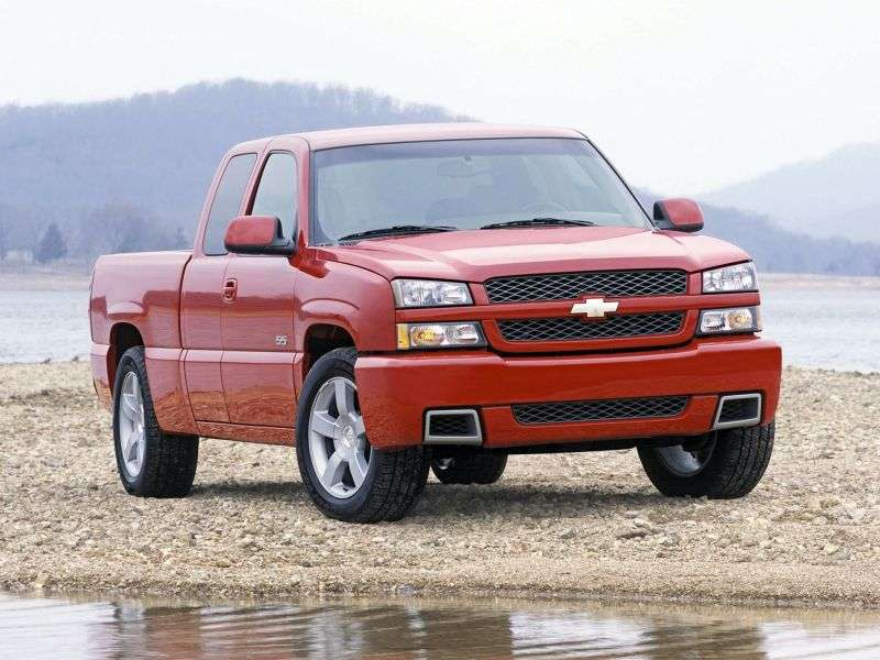 Chevrolet Silverado GMT800 [restyling] SS Extended Cab pick up 4 bit. 6.0 4AT 4WD 1500 (2003–2006)