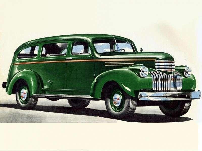 Chevrolet Suburban 3rd generation SUV 3.5 MT Syncro mesh (1941–1946)