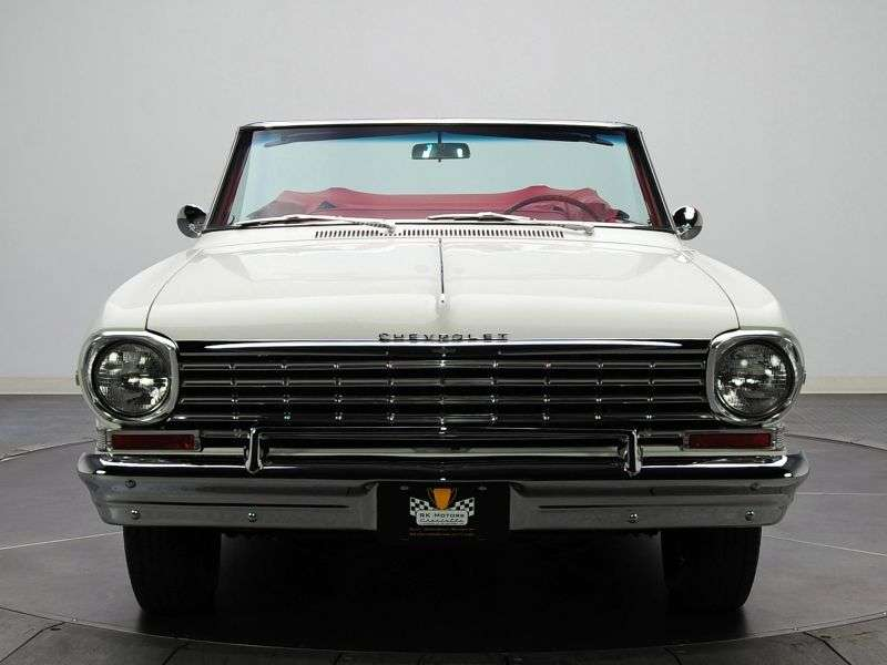 Chevrolet Nova 1st generation [restyling] 2.5 Powerglide convertible (1963–1963)