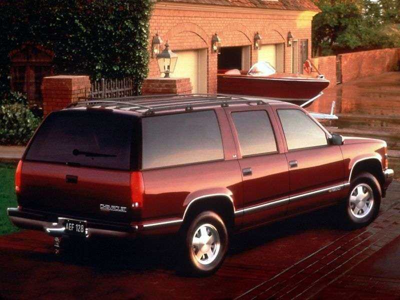 Chevrolet Suburban GMT400 SUV 7.4 C2500 4AT (1996–1999)