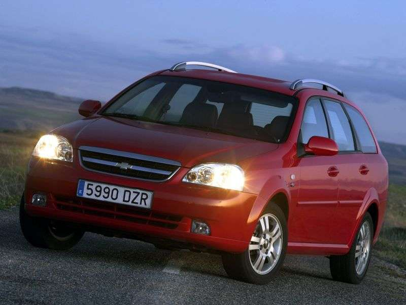 Chevrolet Nubira 1st generation wagon 1.6 EcoLogic MT (2009–2010)