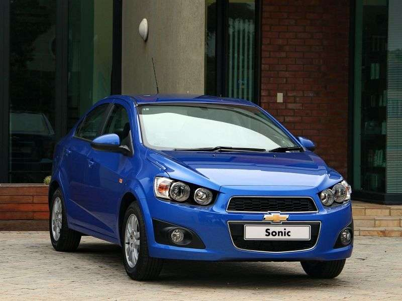 Chevrolet Sonic 1st generation ZA spec 4 door sedan. 1.6 AT (2012 – n. In.)