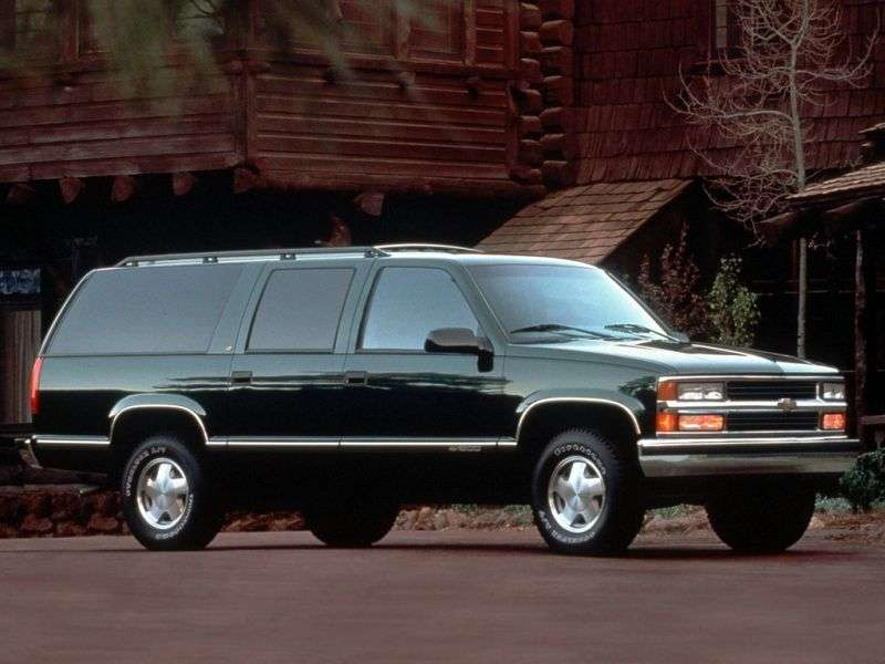 Chevrolet Suburban GMT400 SUV 5.7 K1500 4AT 4WD (1994–1995)