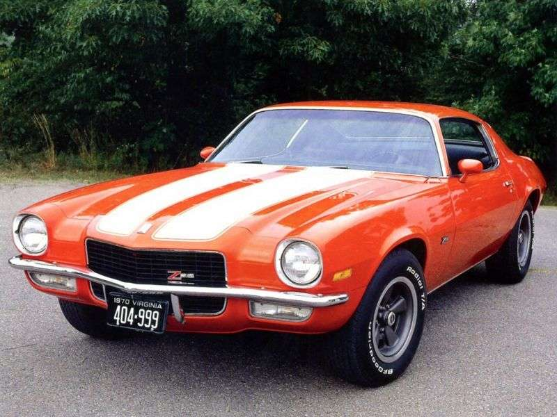 Chevrolet Camaro 2nd generation Z28 coupe 2 bit. 5.7 MT (1970–1972)
