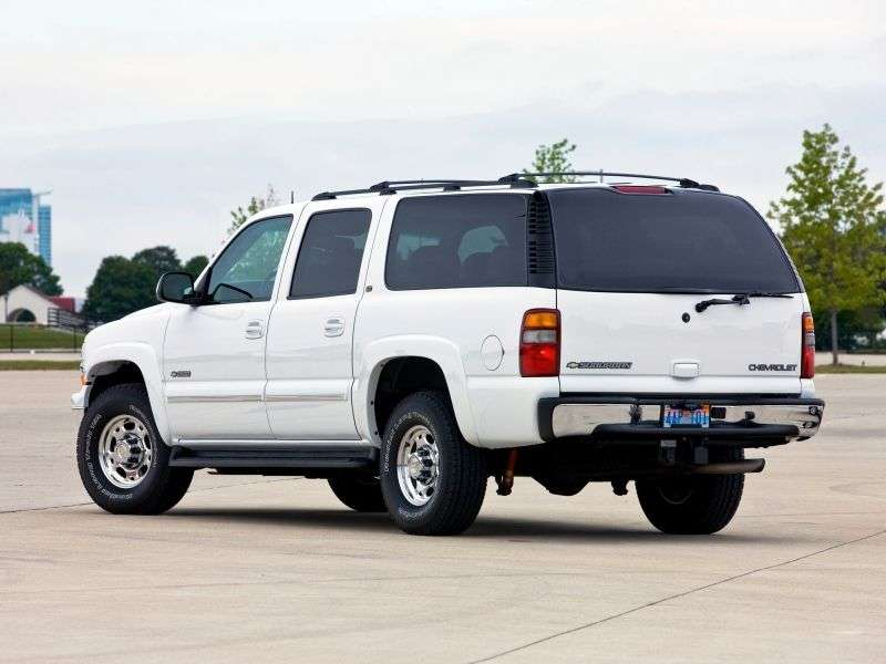 Chevrolet Suburban GMT800 6x K2500 AT 4WD (2004–2005)