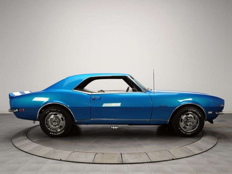 Chevrolet Camaro 1st generation [restyling] Z28 RS coupe 2 dv. 4.9 MT (1968–1968)