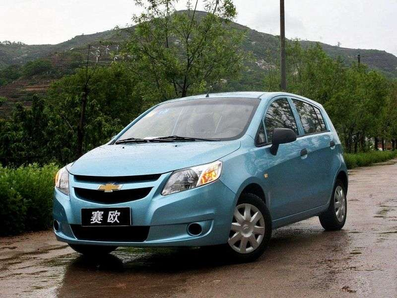 Chevrolet Sail 2 generation hatchback 1.2 MT (2010 – n.)