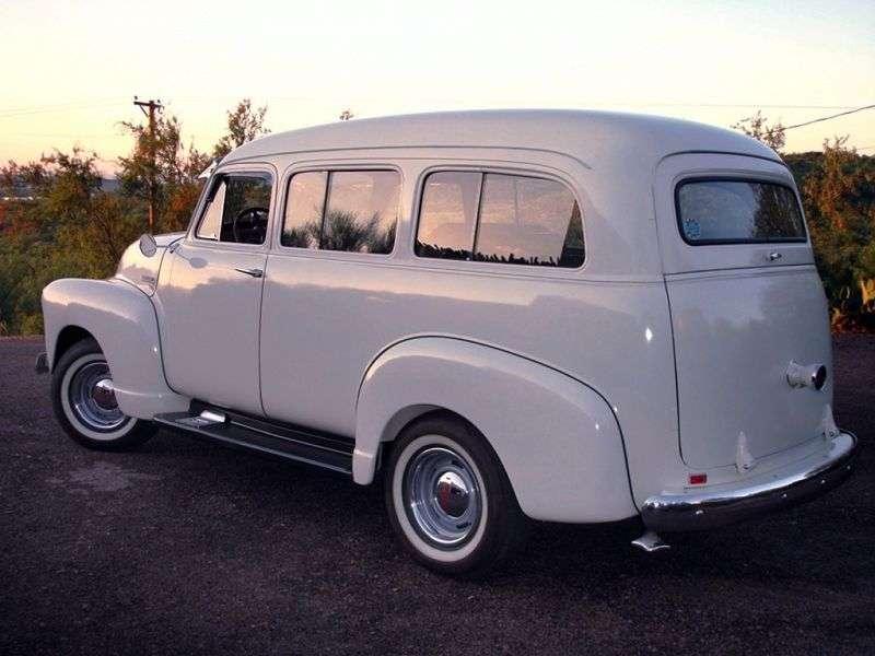 Chevrolet Suburban 4th generation SUV 3.5 3MT Synchro mesh (1947–1955)