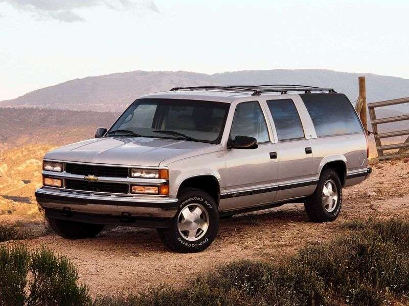 Chevrolet Suburban GMT400 SUV 5.7 K2500 4AT 4WD (1995–1995)
