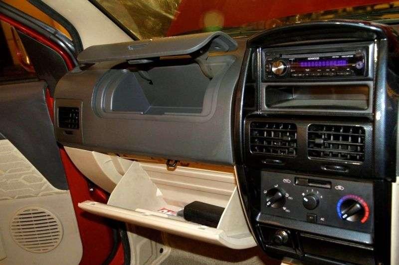 Chevrolet Tavera 2nd generation [restyling] Neo 3 minivan 2.5 TD MT 10 seat (2012 – n.)