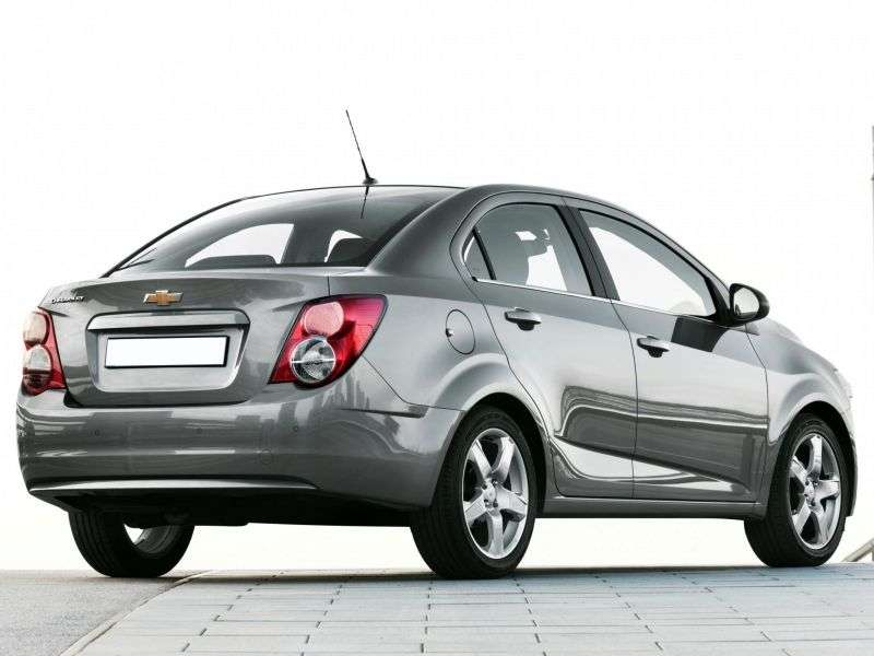 Chevrolet Sonic 1st generation 1.4 AT sedan (2011 – n. In.)