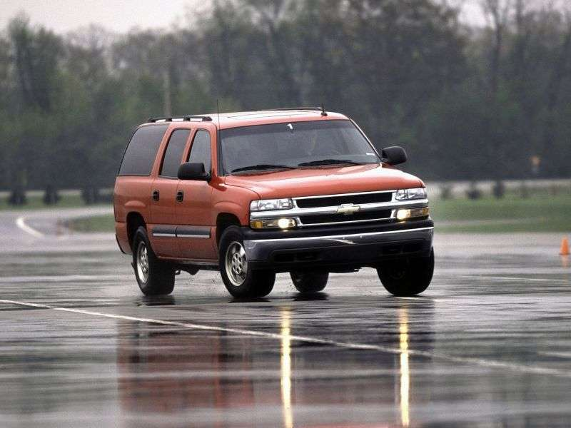 Chevrolet Suburban GMT800 ATV 5.3 C1500 AT (2000–2003)