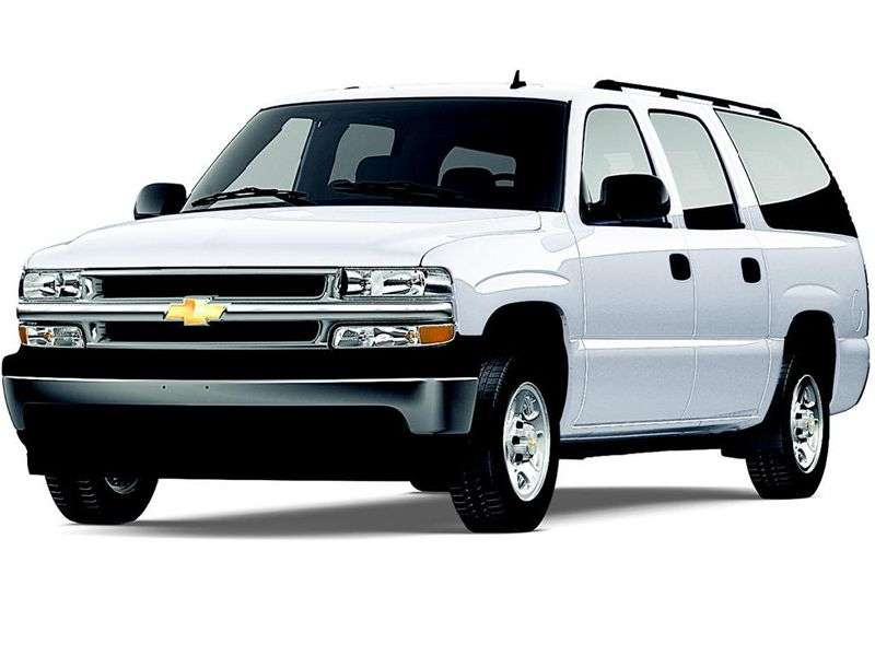 Chevrolet Suburban GMT800 ATV 8.1 C2500 AT (2001–2003)