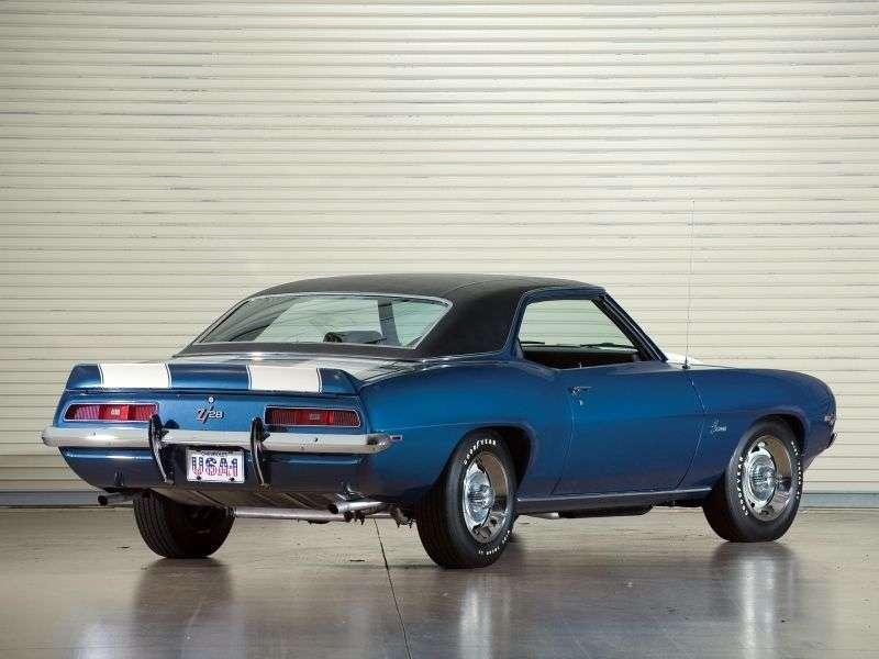 Chevrolet Camaro 1st generation [2nd restyling] Z28 coupe 2 dv. 4.9 MT (1969–1969)