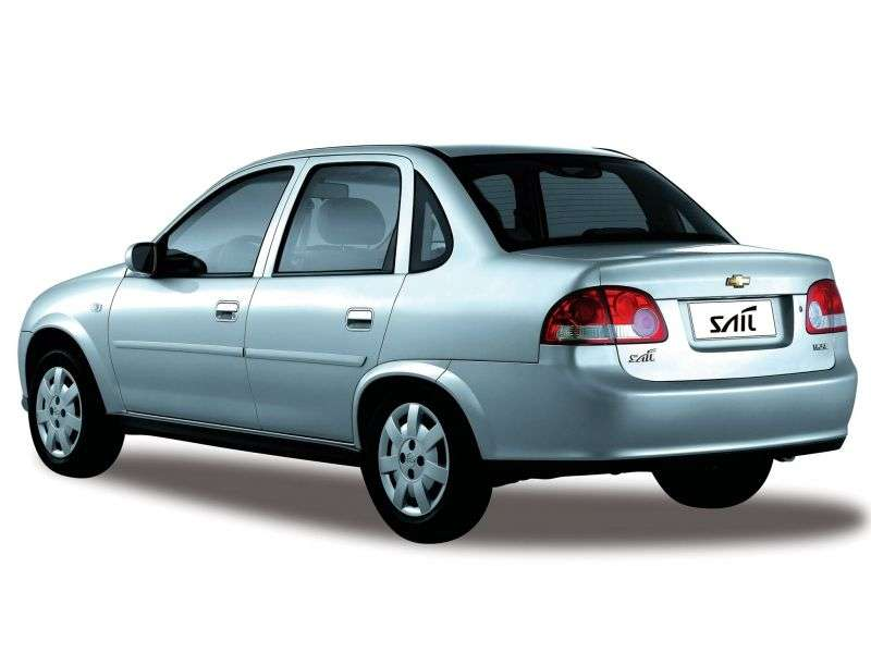 Chevrolet Sail 1st generation 1.6 MT sedan (2005–2009)
