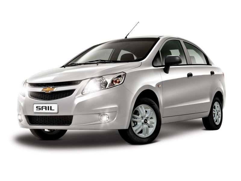 Chevrolet Sail 2nd generation sedan 1.2 EMT (2010 – n.)