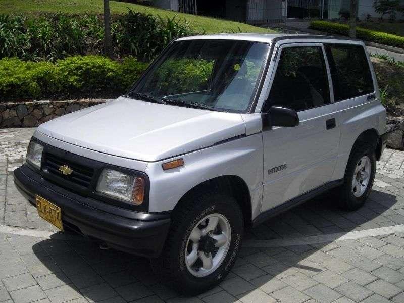 Chevrolet Vitara 1st generation SUV 1.6 MT AWD (1996 – n.)