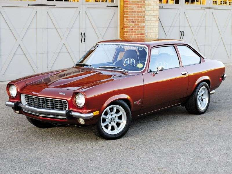 Chevrolet Vega 1st generation 2.3 MT sedan (1970–1972)
