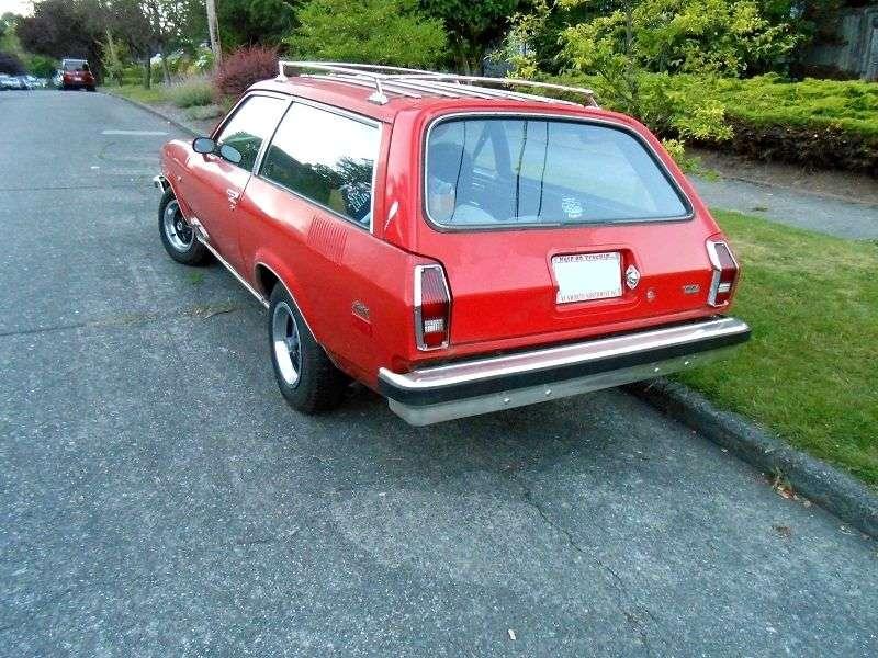 Chevrolet Vega 1st generation [restyling] station wagon 2.3 4MT (1974–1975)