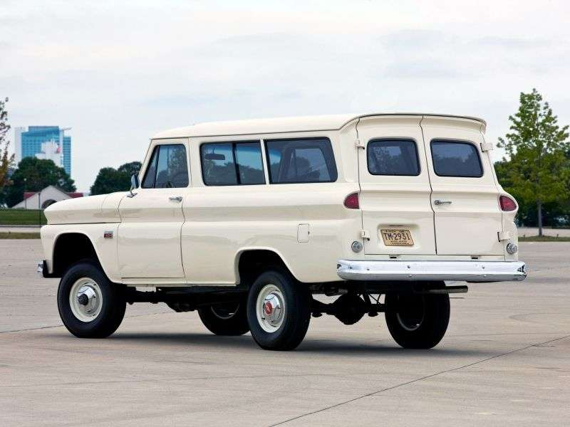 Chevrolet Suburban 6th generation [restyling] SUV 4.6 AT Powerglide (1963–1966)