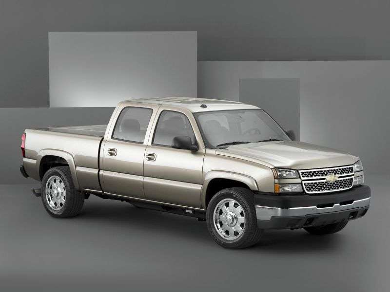Chevrolet Silverado GMT800 [restyling] Crew Cab pickup 4 bit. 5.3 4AT SWB 1500 (2006–2007)