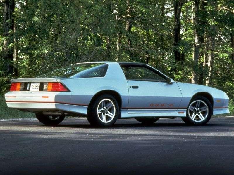 Chevrolet Camaro 3rd generation [restyling] Z28 T top targa 5.0 AT (1988–1990)