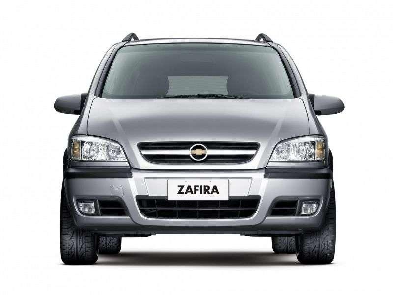 Chevrolet Zafira 1st generation [restyled] minivan 2.0 Flexpower AT (2004–2009)