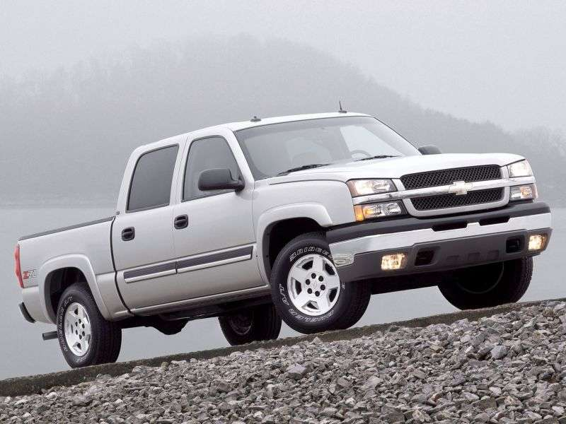 Chevrolet Silverado GMT800 [restyling] Crew Cab pickup 4 bit. 6.6 TD 6AT 4WD LWB 3500 (2006–2007)