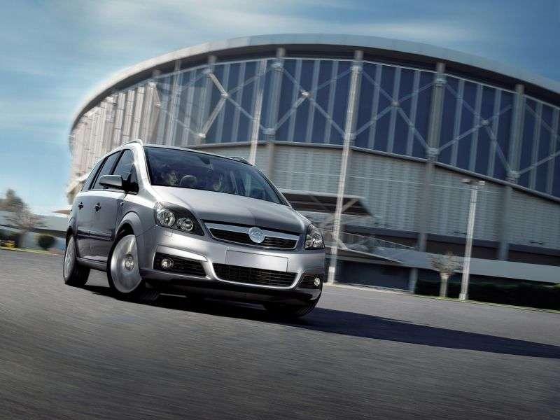 Chevrolet Zafira 2nd generation minivan 2.0 Flexpower MT (2009–2012)