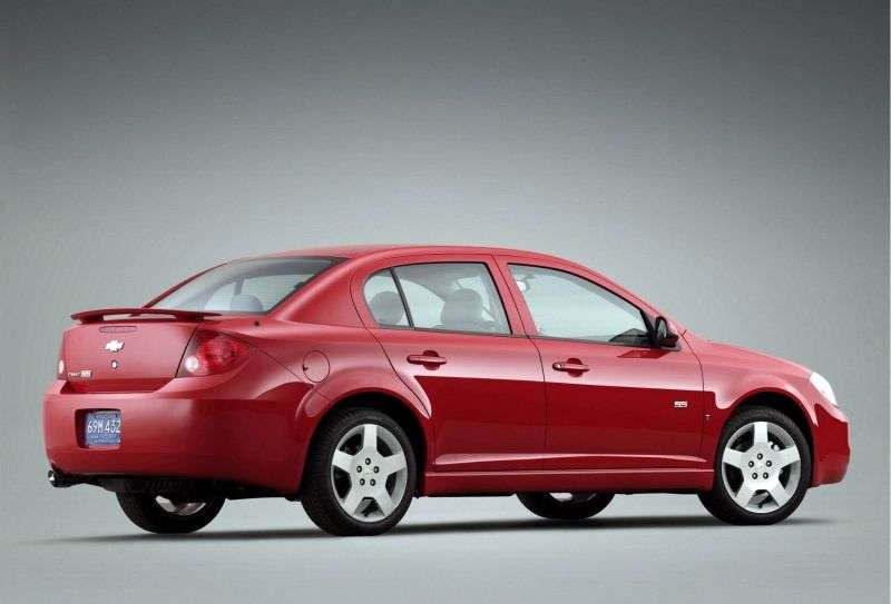 Chevrolet Cobalt 1st generation [restyling] SS sedan 2.4 MT (2008–2010)