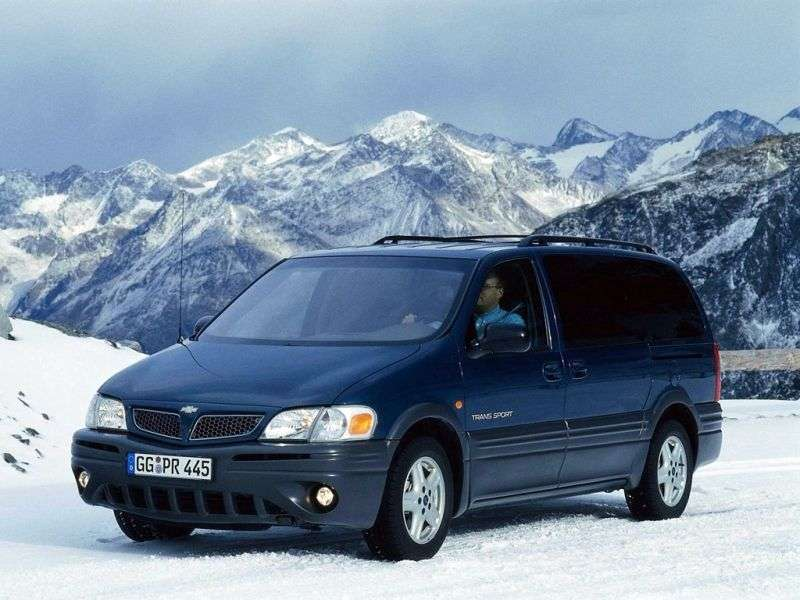 Chevrolet Trans Sport 1st generation [restyled] minivan 3.4 AT (2001–2006)