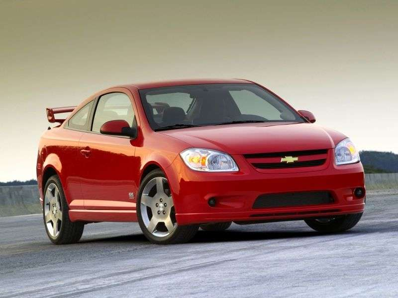 Chevrolet Cobalt 1st generation SS coupe 2 bit. 2.0 Supercharged MT (2005–2007)