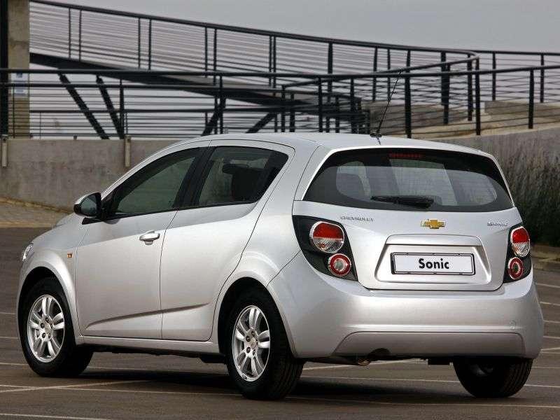 Chevrolet Sonic 1st generation ZA spec hatchback 5 dv. 1.3 VCDi MT (2012 – current century)