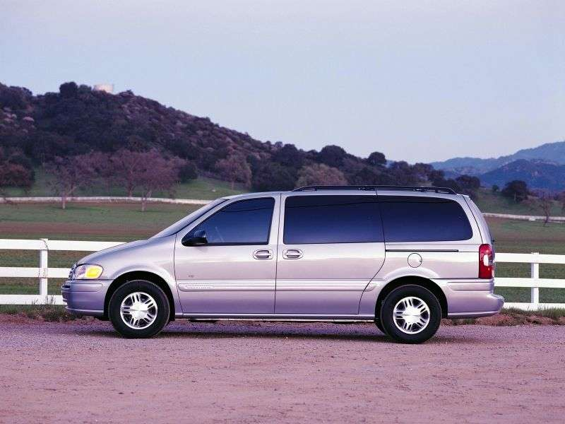 Chevrolet Venture 1st generation 3.4 AT SWB minivan (1999–2001)