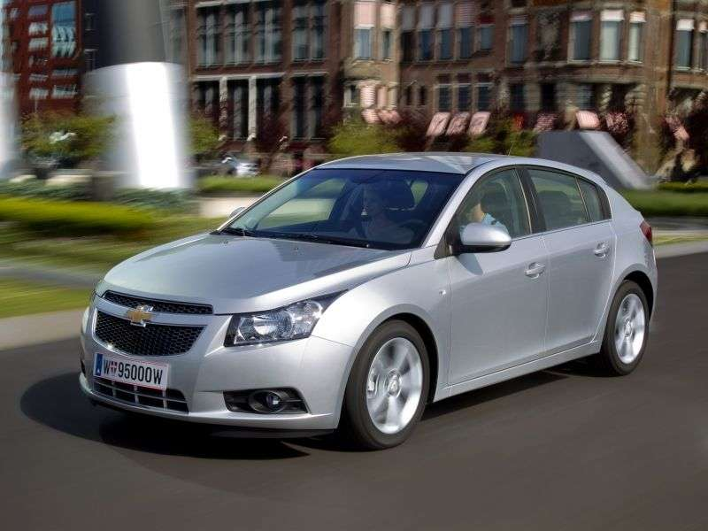 Chevrolet Cruze J300hatchback 1.6 AT LS (1PQ68I4F2) (2011–2012)