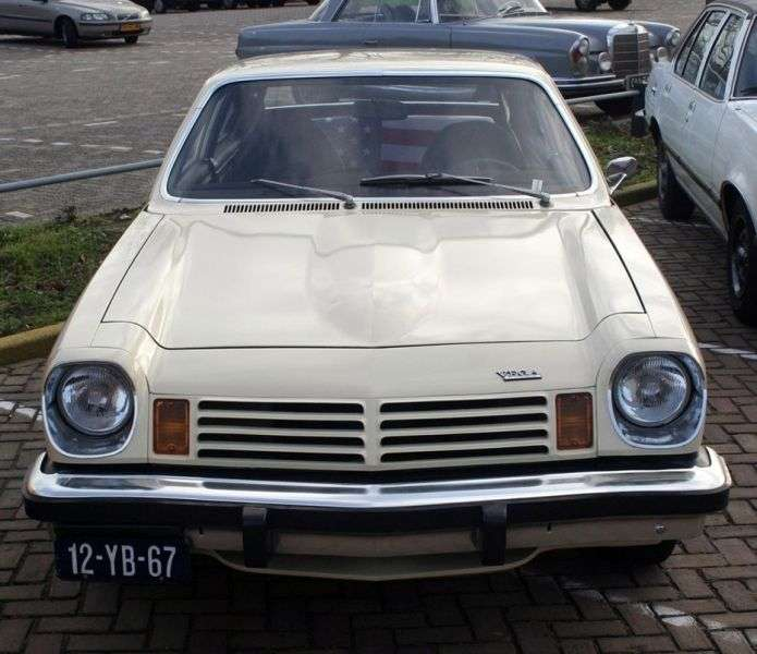 Chevrolet Vega 1st generation [restyling] 3 bit hatchback 2.3 MT (1975–1976)