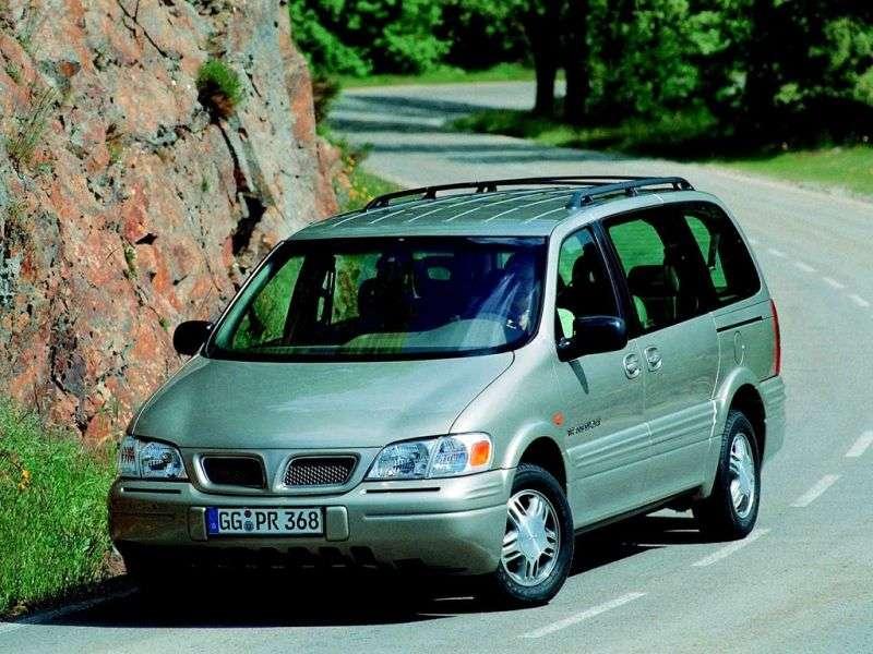 Chevrolet Trans Sport 1st generation 3.4 AT minivan (1998–2000)