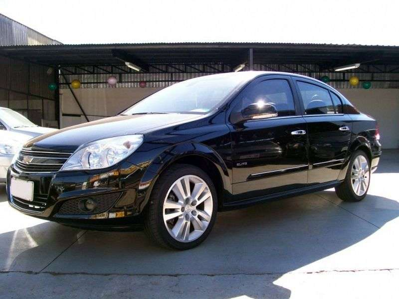 Chevrolet Vectra 3rd generation [restyling] sedan 2.0 AT (2009–2011)