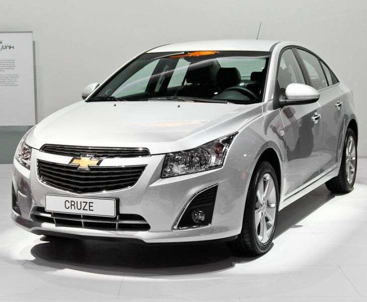 Chevrolet Cruze J300 [restyling] 4 door sedan 1.6 AT LS (2012 – n. In.)