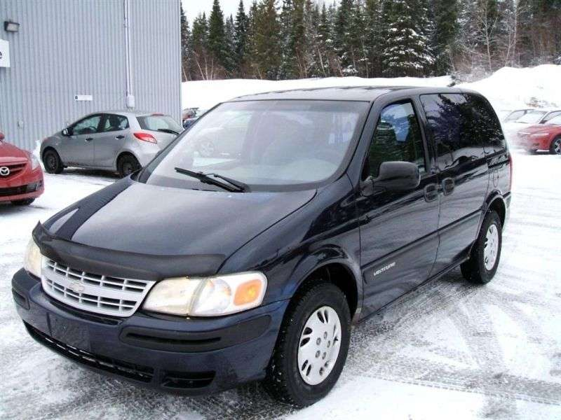 Chevrolet Venture 1st generation [restyled] minivan 3.4 AT LWB AWD (2002–2005)