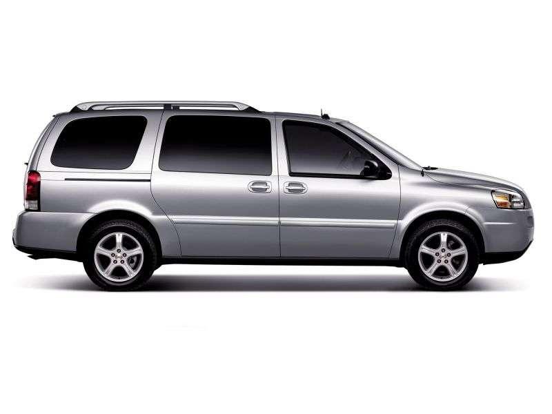 Chevrolet Uplander 1st generation minivan 3.9 Flex Fuel Hydra Matic LWB (2007–2008)