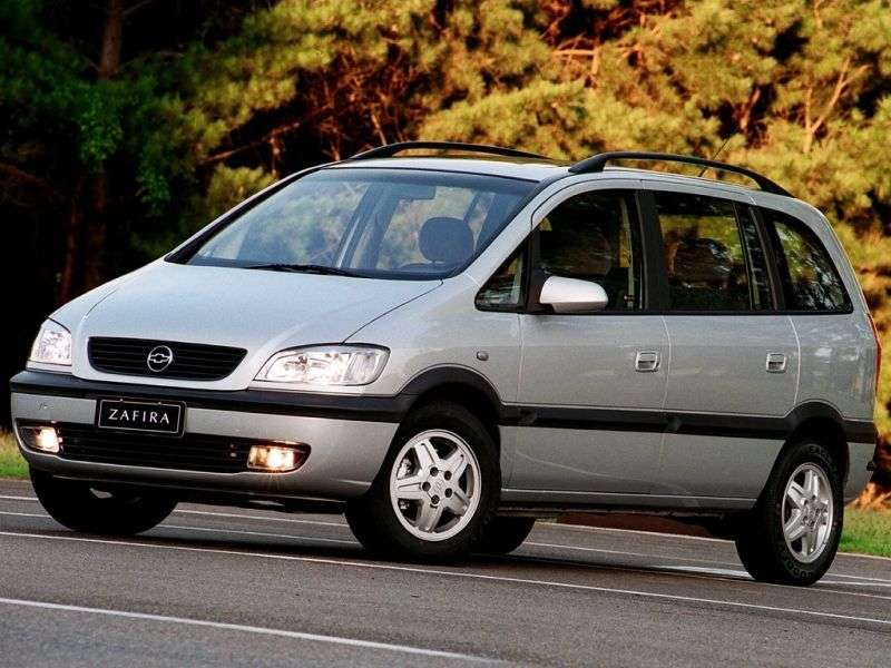 Chevrolet Zafira 1st generation 2.0 MT minivan (2001–2004)