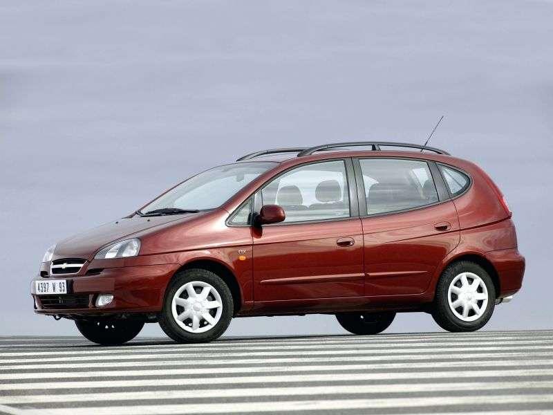 Chevrolet Tacuma 1st generation minivan 2.0 MT (2005–2008)