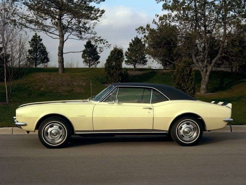 Chevrolet Camaro 1st generation RS / SS coupe 2 bit. 5.7 Powerglide (1967–1967)