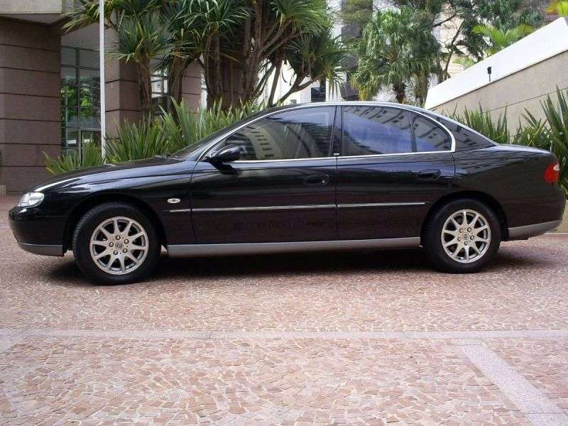Chevrolet Omega B [restyling] sedan 3.8 AT (2001–2003)