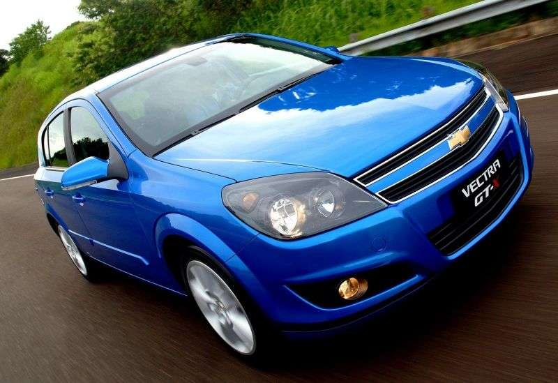 Chevrolet Vectra 3rd generation [restyling] GT hatchback 2.0 Flexpower AT (2009–2011)